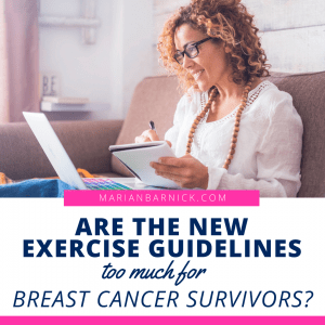 Exercise and Cancer: Are the New Guidelines Too Much for Survivors?