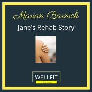 A Breast Cancer Patient's Rehab Story