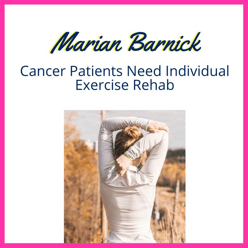 cancer exercise rehab