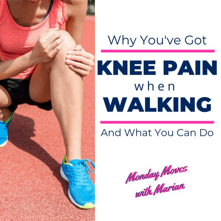 knee pain when walking