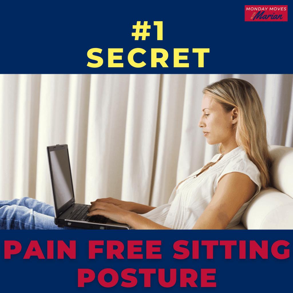 pain free sitting posture